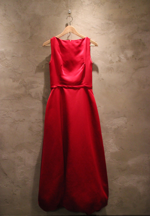 Red Bill Blass Dress