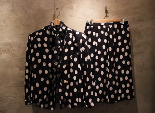 Bill Blass Polka Dot Suit