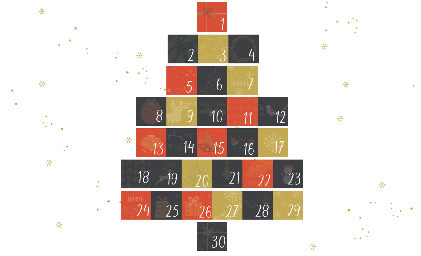 Mona Williams Advent Calendar